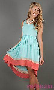 Buy High Low Casual Summer Dress at PromGirl