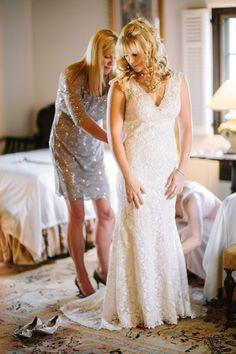 Real Weddings: Kelly and Joshua's Florida Estate Wedding