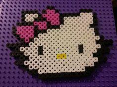 Hello Kitty perler beads by Amanda