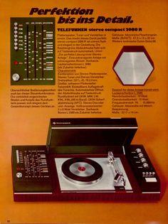 Telefunken Stereo Compact 2080 R Hifi (1972)