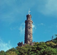 Get a bird's eye view of the sea from The Nelson Monument | 16 Ways To Experience Edinburgh On The Cheap