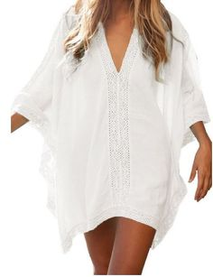 Women's Solid Oversized Beach Cover Up | Joana's Goodies