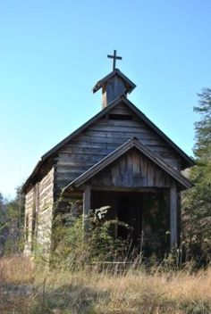 Church at Dogpatch, USA #AETN #BeMore #Arkansas