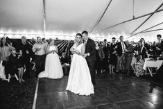 A Joyous + Prideful Backyard Maine Wedding Navy Blue Heels, Maine, Couples In Love, Reception, Backyard, Dancing Shoes, Formal Dresses, Party, Photography