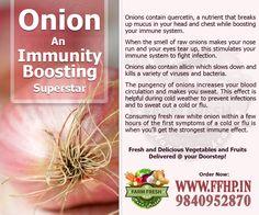 Onion- An Immunity Boosting Superstar!