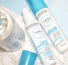 Bioderma Hydrabio Serum Moisturizing Concentrate and Light Cream