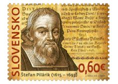 COLLECTORZPEDIA: Slovakia Stamps 400th Birth Anniversary of Štefan Pilárik