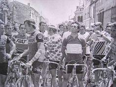 The Bernard Hinault led riders protest, 1978 Tour de France.