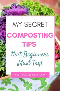 Composting for Beginners in 3 Easy Steps! Do you want to learn how to compost? This guide will teach you all about compost bins (even DIY Compost bins!), how to start composting, and what to compost. Composting for beginners apartment. How To Start Composting, How To Make Compost, Composting At Home, Composting Methods, Container Plants, Container Gardening, Gardening For Beginners, Gardening Tips, Amigurumi