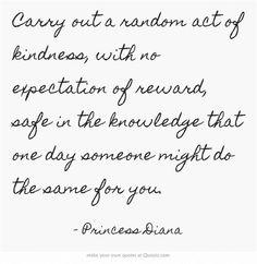 RAOKS= random acts of kindness