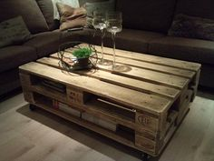 Easy Way to Make Pallet Coffee Tables for Your Home