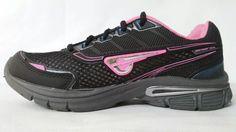 tênis, feminino, glk, glk 036, preto/pink,