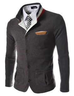 (GD140) TheLees Slim Stretchy China Collar Knitted Cardigan CHARCOAL Large(US Medium) TheLees,http://www.amazon.com/dp/B00DZJ8GPY/ref=cm_sw_r_pi_dp_C5JOsb03KW0PXHDY