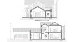 This Project includes the demolition of an existing dwellinghouse and construction of a new dwelling, garage, new driveway and all ancillary services. Old School House, Modern House Design, Building A House, Homeschool, Old Things, Garage, Floor Plans, Construction, How To Plan