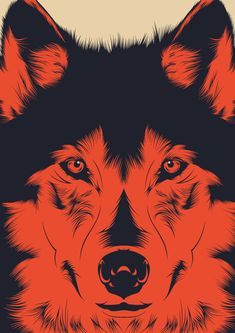 Wolf by CranioDsgn, via Behance