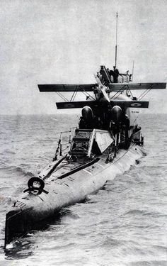 HMS M2, a Royal Navy submarine completed in 1919, converted in 1927 into the world's first submarine aircraft carrier.