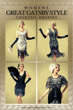 Roaring 20s New Year Eve, Wedding or Formal Event coming up? Don't worry we have you covered. Check out all our stunning Great Gatsby Cocktail & Party dresses guaranteed to turn heads. 1920s Cocktail Dresses, 1920s Dress, 20s Party, Great Gatsby Party, Great Gatsby Dresses, Flapper Style, Roaring 20s, Don't Worry, Party Dresses