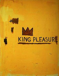 Jean-Michel Basquiat, King Pleasure, 1987