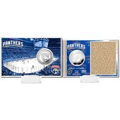 Florida Panthers Highland Mint History Coin Card - $15.99