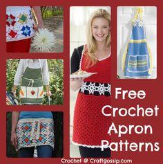 Free Crochet Apron Patterns – Crochet
