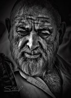 Faces of Old People in Black and White Photography   InspireFirst