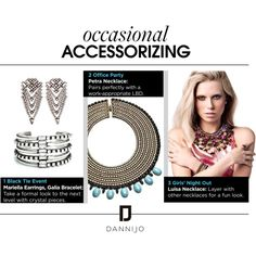 """Accessories for Every Occasion"" by dannijo on Polyvore"