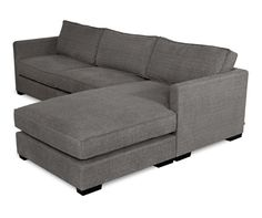 Loving grey sectionals for furnishing the basement