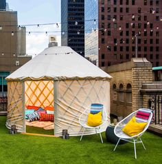 Yes, You Can Book a Yurt on Top of This NYC Hotel — Design News