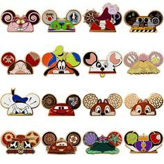 pins all pins disney mystery pin set ear hat characters 5 random part . Walt Disney, Disney Parks, Disney Cute, Disney Magic, Disney Pixar, Disney Characters, Disney Dream, Disney Pin Trading, Disneyland Pin Trading