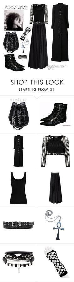 """Trad Goth"" by angelique-von-tod ❤ liked on Polyvore featuring Y/Project, Twenty and Kill Star"