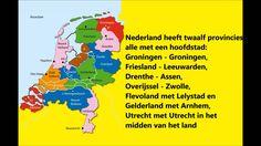 Lied om de 12 provincies met hoofdsteden te leren