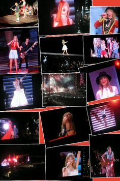 This is a collage of my red tour experience in Philly 7/19/13