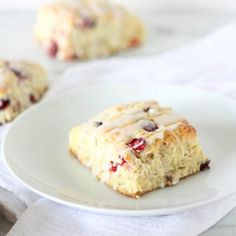 Cranberry Scones with Wild Orange Essential Oil. Baking with essential oils is incredible, and these scones prove it! They're perfect!
