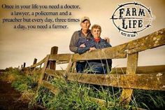 """I never knew who Paul Harvey was until today's Super Bowl, courtesy of Ram Trucks and their brilliant two-minute ad, """"So God made a farmer"""". Country Strong, Country Farm, Country Life, Country Girls, Country Living, Way Of Life, Life Is Good, Agriculture Farming, Agriculture Quotes"""