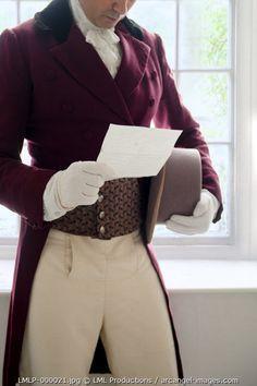 www.arcangel.com - victorian-gentleman-reading-a-letter