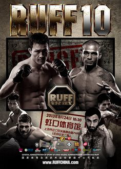 RUFF 10 Fightcard