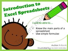Introduction to Excel Spreadsheets from Computer & ICT Lesson Plans on TeachersNotebook.com -  (5 pages)  - Introduction to Excel Spreadsheets. This fantastic resource allows children to make the link between Maths and Excel Spreadsheets. A good teacher demonstration resource for use on the Interactive Whit