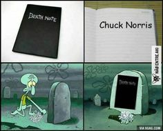 Death Note vs Chuck Norris