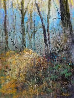 Hint of Spring by Tom Christopher Pastel ~ 26 x 20