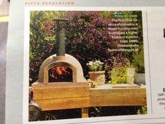 Pizza oven for the garden