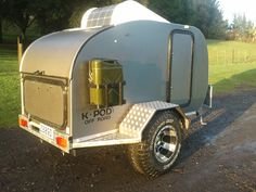 Our own Off-Road K-Pod, made in NZ for all outdoor lovers who want to take their teardrop camper anywhere and everywhere!
