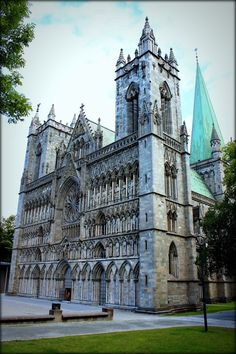 NIADROS CATHEDRAL IN TRONDHEIM NORWAY