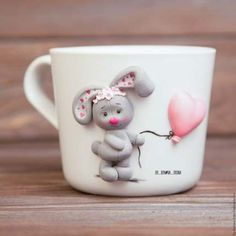 Craft Clay Recipe 17 Ideas For 2019 Polymer Clay Recipe, Polymer Clay Figures, Cute Polymer Clay, Cute Clay, Fimo Clay, Polymer Clay Projects, Polymer Clay Creations, Polymer Clay Jewelry, Clay Cup