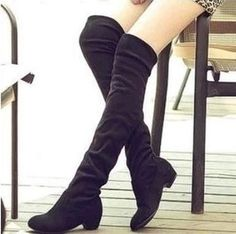 Shoes women boots 2015 spring ladies fashion flat bottom boots shoes over the knee thigh high cotton fabric long boots 3 colors
