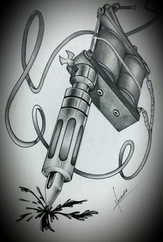 Maquina de tatoo