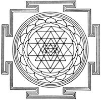 Use of mandalas in different cultures. Explanation of the Sri Yantra, mother of all yantras and mandalas from the Prerna School of Inspiration. Occult Symbols, Sacred Symbols, Hinduism Symbols, Meditation Symbols, Yoga Meditation, Mandala Meditation, Yoga Symbols, Buddhist Meditation, Kundalini Yoga