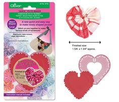 "10% off Clover ""Quick"" Yo-Yo Makers in Circle, Heart, Oval, Flower ..."