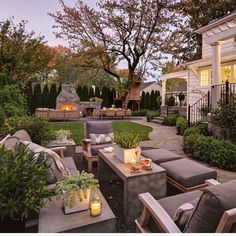 Backyard goodness! Tag a friend you'd invite to a cookout! by Shapiro Didway... - Interior Design Ideas, Interior Decor and Designs, Home Design Inspiration, Room Design Ideas, Interior Decorating, Furniture And Accessories