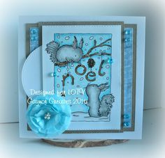 Hi me lovelies I'm sharing my make for LOTV's August challenge Anything goes I have used this adorable new Digi stamp called Squir. August Challenge, Lily Of The Valley, Squirrel, Cardmaking, Christmas Cards, Stamp, Onion, Card Ideas, Fun
