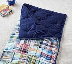 Shop kids sleeping bags and naps mats at Pottery Barn Kids. Find comfy sleeping bags for girls and boys that will be perfect for their next overnight trip or sleepover. Pb Teen, Kids Bags, Pottery Barn Kids, Sleepover, Kids Furniture, Bag Making, Classic Style, Sleeping Bags, Couch